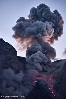Batu Tara volcano, P. Komba