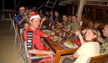 Christmas Dinner under the stars