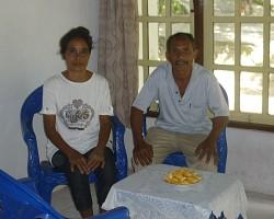 Fajarria's parents