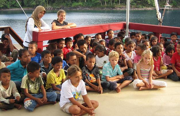 Children on Seven Seas