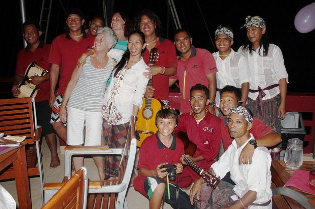 Guests & crew
