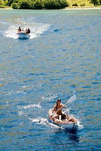 Fun on the water at Batu Monco