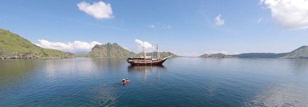 The Seven Seas in Padar