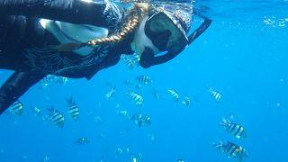 Snorkeling at Batu Bolong