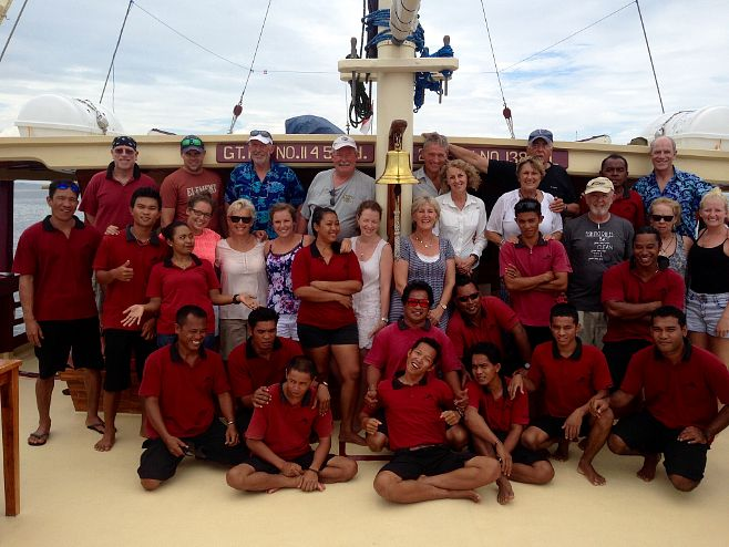 Crew & guests