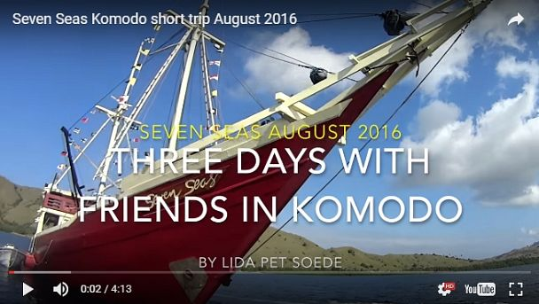 Komodo Family Trip video 2016