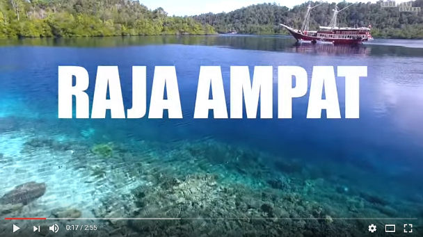 Video: Raja Ampat, by Pierre-Yves Cousteau