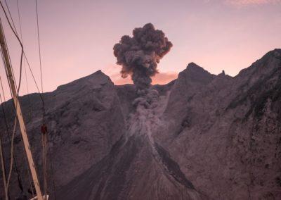 Komba volcano by Bojan Tercon