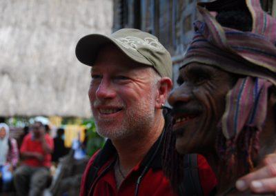 Karl Klingeler & tribe chief