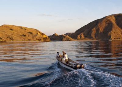 Heading to shore, Komodo National Park