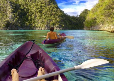 Raja Ampat kayaking