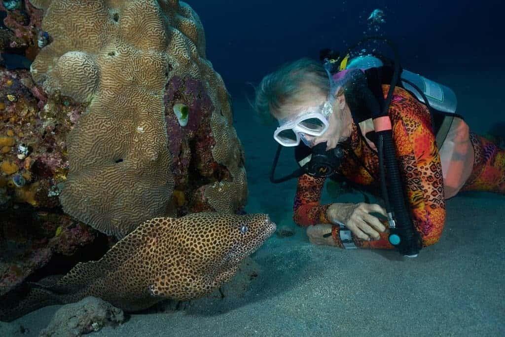 Valerie & moray eel