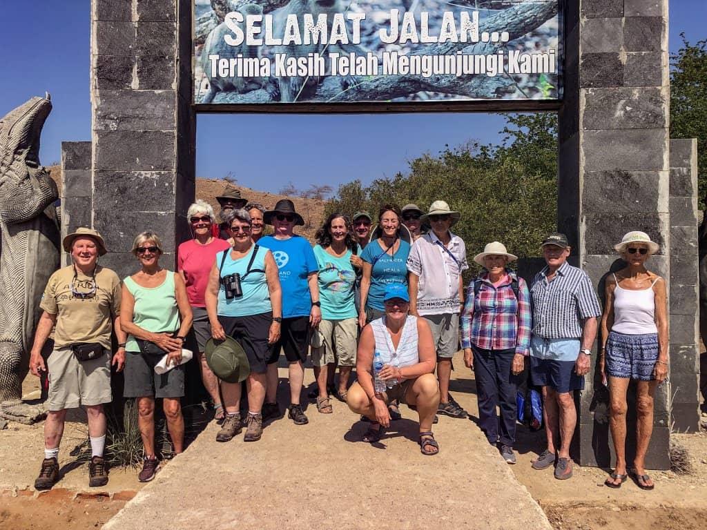 Seven Seas' guests at Komodo