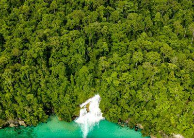 Raja Ampat aerial