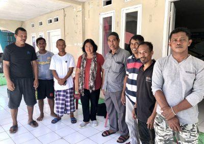 Community patrol group at Pulau Rhun