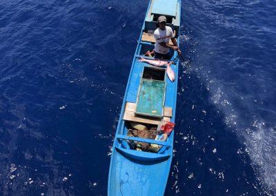 Fishing boat at Pulau Rhun