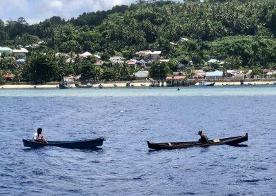 Fishermen at Pulau Rhun