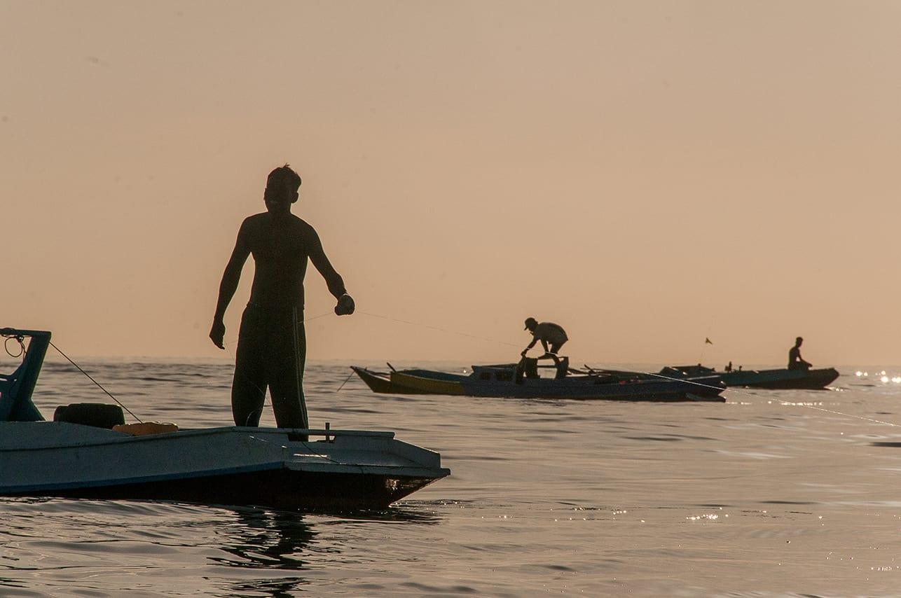 Handline fishers