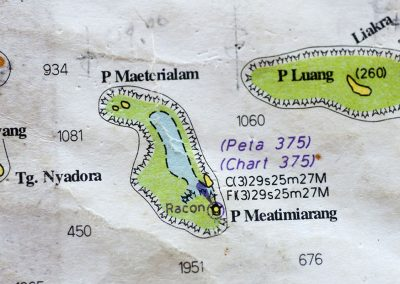 Atolls and Islands in the Sermata Group