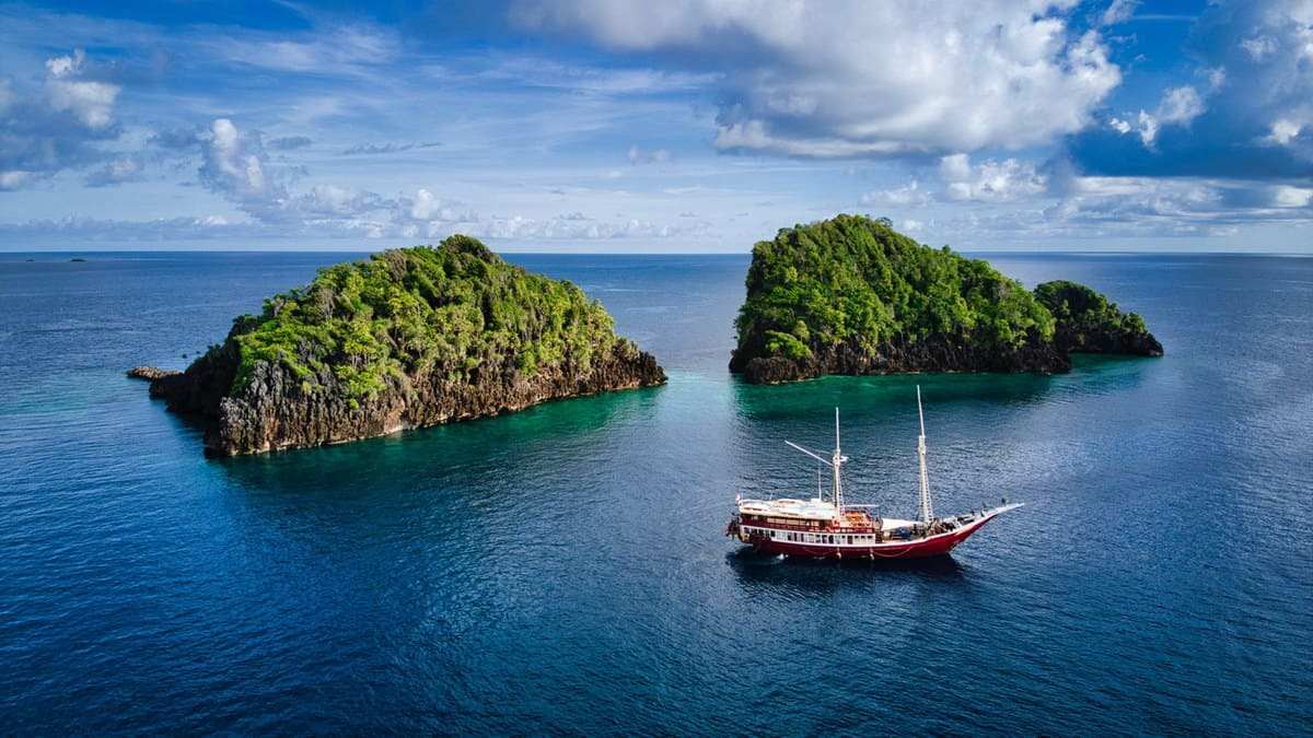 The Seven Seas is Raja Ampat