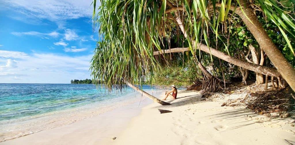 Anita on Dayang beach