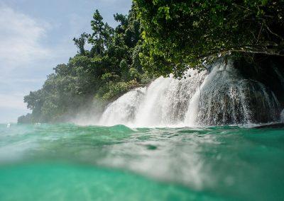 Momon waterfall